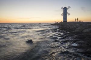 "Latarnia morska ""Stawa Myny""w winoujciu,Polska"