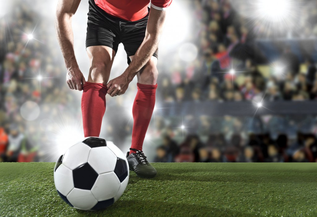 Piłkarze szkolą swoich następców